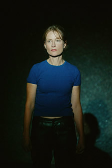"Isabelle Huppert in Sarah Kane's ""4.48 Psychose,"" directed by Claude Regy. Photo credit: Pascal Victor/MAXPPP"