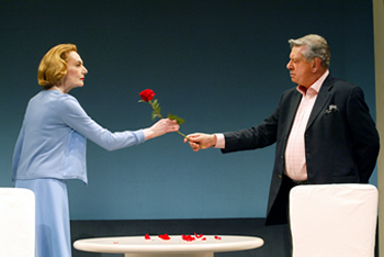 Marian Seldes and Brian Murray in Counting the Ways
