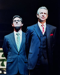 "Richard Thomas and James Naughton in Michael Frayn's ""Democracy"""