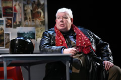 "Richard Griffiths as Hector in Alan Bennett'e ""The History Boys."" Photo: Joan Marcus"