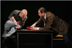 pillowman review essay Headline theatre review: the pillowman martin mcdonagh's the pillowman debuted in london in 2003, and the royal national theatre's production was performed at cork opera house in 2005.
