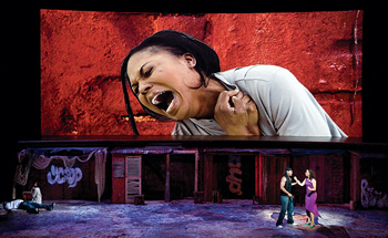 """Porgy and Bess,"" a co-production by the Edinburgh International Festival and Opera Lyon, 2010."