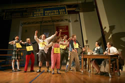 """The 25th Annual Putnam County Spelling Bee"" at Circle in the Square. Photo credit: Joan Marcus"